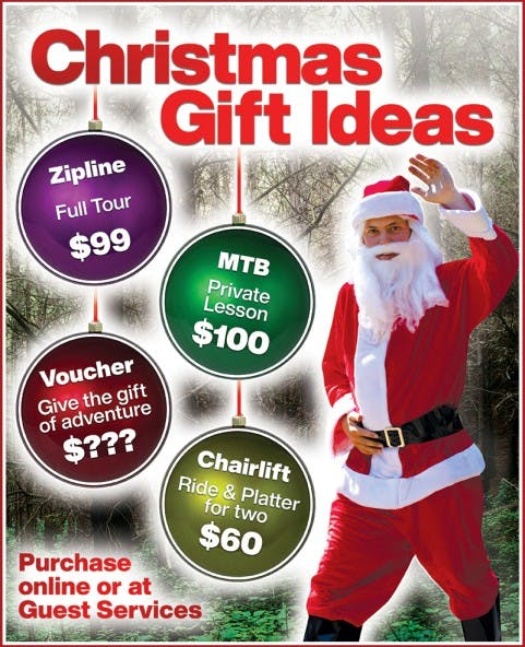 Christchurch Adventure Park Christmas Gift Ideas Image v2