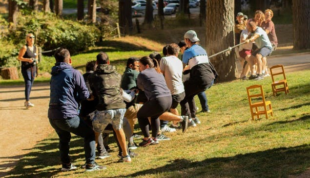 Christchurch Adventure Park Functions Groups and Events Tug of War