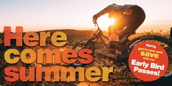 Here Comes Summer Web Page Header