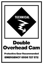 16 Double Overhead Cam