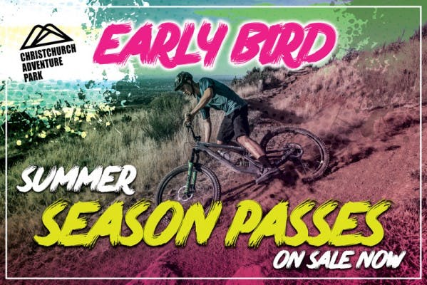 Christchurch Adventure Park Early Bird Summer Season Passes On Sale Now v6