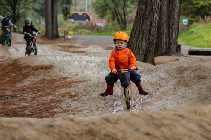 Kids Birthday Parties Christchurch Adventure Park Pump Track