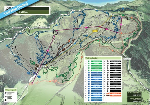 Trail Map Today