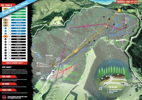 Trail Map Pre Fire