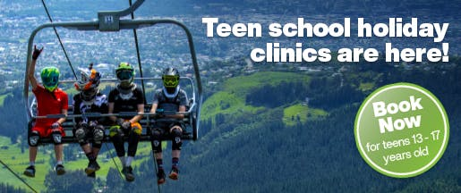 Teen School Holiday Programmes Home Page Banner v2