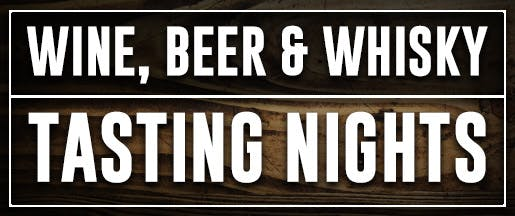 Wine Beer And Whisky Tasting Nights Home Page Banner