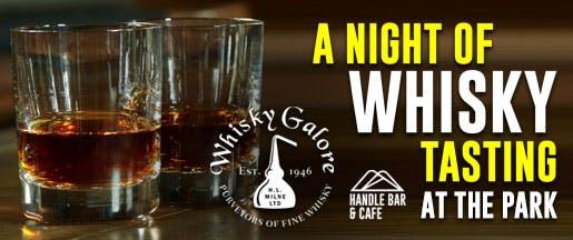 Whisky Tasting At The Park Home Page Banner v2