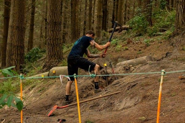 Aaron Trail Work 2