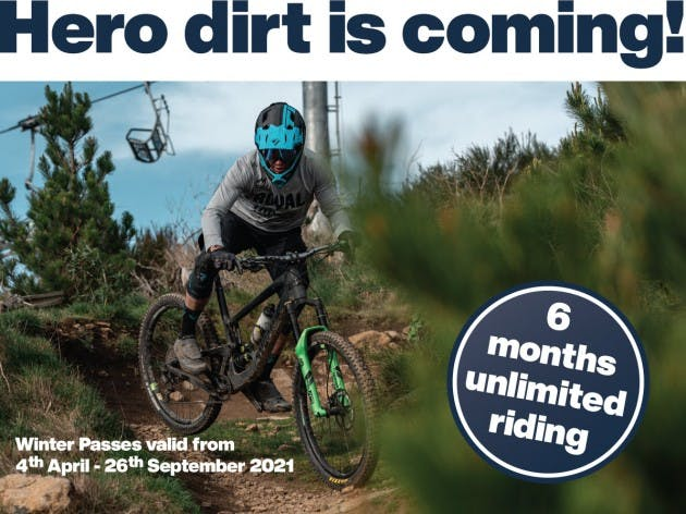 Winter Passes on sale now Christchurch Adventure Hero Dirt Is Coming