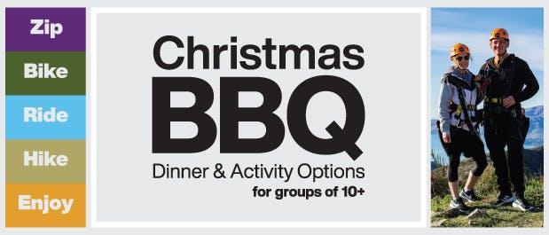 Christmas BBQ Christchurch Adventure Park