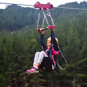 Family Zipline Christchurch Adventure Park