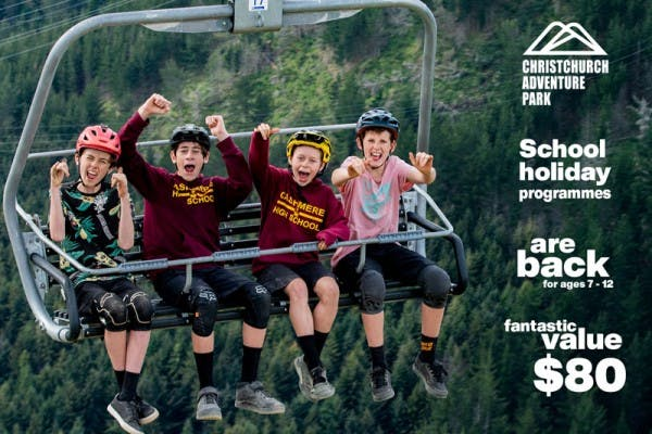 Christchurch Adventure Park School Holiday Programmes